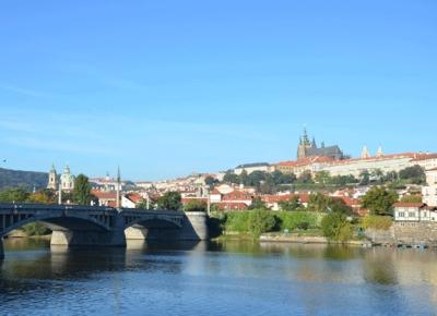 Pražské památky z Vltavy