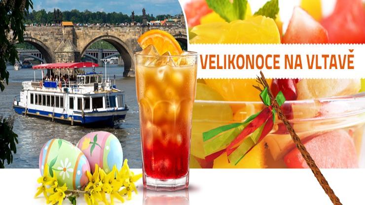 Velikonoční plavby na Vltavě